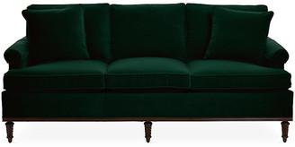 Michael Thomas Collection Garbo Sofa - Emerald Velvet