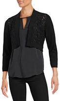 Calvin Klein Lace Fashion Shrug