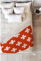 Deny Designs Holli Zollinger Vermillion Plus Fleece Throw Blanket