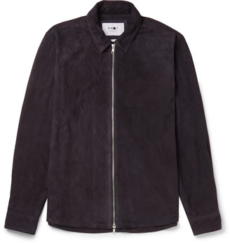 NN07 Suede Shirt Jacket