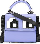 Les Petits Joueurs Eyes Micro Alex shoulder bag - women - Calf Leather - One Size