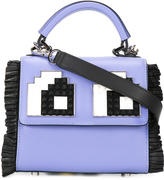 Les Petits Joueurs Eyes Micro Alex shoulder bag