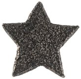 Carolina Bucci 18kt black gold 'Superstellar' star stud earring