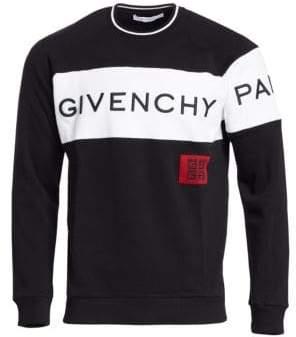 Givenchy Pique Band Crewneck