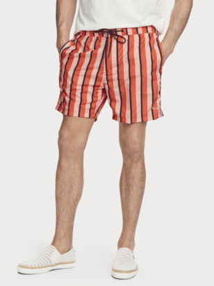 Scotch & Soda Lined printed swim shorts   Men