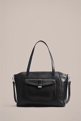 Witchery Myna Pebbled East West Bag