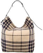 Balenciaga Woven Hobo Bag