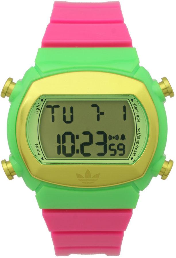 adidas Candy Neon Splice Green/Yellow Watch