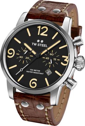 TW Steel Maverick MS4 Watch Brown