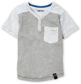 DKNY Toddler Boys) Two-Tone Henley Tee