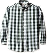 Dockers Big-Tall Long Sleeve No Wrinkle Signature Button Down Collar Gingham Shirt