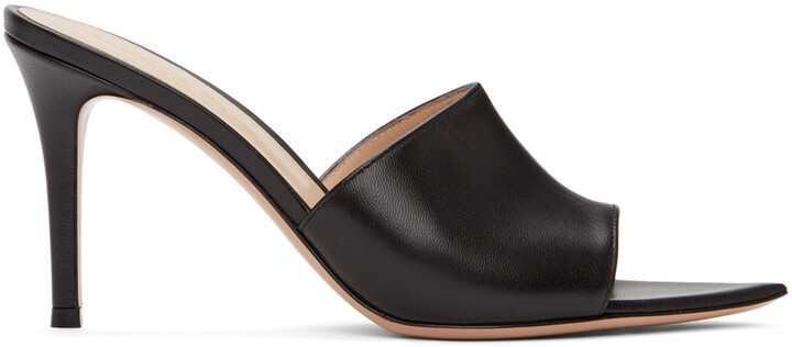 Thumbnail for your product : Gianvito Rossi Black Alise 85 Heeled Sandals
