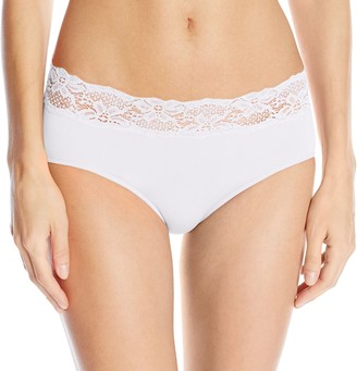 Ahh By Rhonda Shear Women's Seamless Panty with Lace
