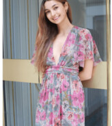 Thumbnail for your product : Margaux Lurex Floral Maxi Dress