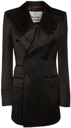 Vivienne Westwood Satin Double Breast Jacket Dress