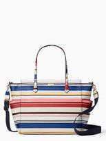 Kate Spade Laurel way berber stripe kaylie baby bag