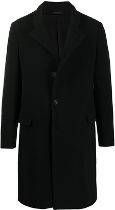 Giorgio Armani Button-Front Wool-Blend Coat