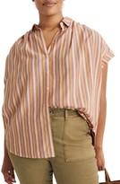 Madewell Rainbow Stripe Central Shirt