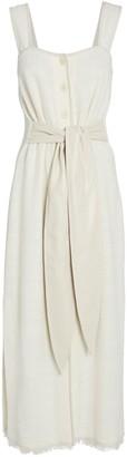Nanushka Rita Belted Midi Dress