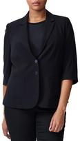 Universal Standard Meg Elbow-Sleeve Blazer