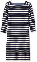 L.L. Bean Mariner Squareneck Dress, Stripe