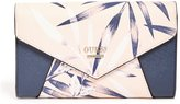 GUESS Gia Floral-Print Clutch