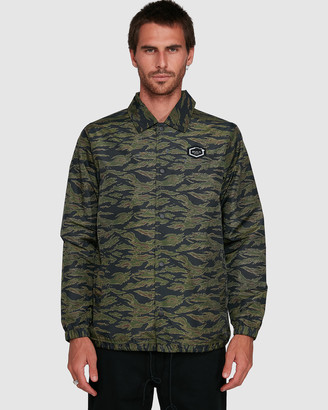 RVCA Jungle Camo Coaches Jacket