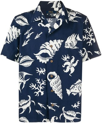 Polo Ralph Lauren Graphic Print Short-Sleeved Shirt
