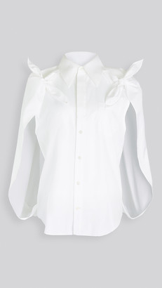 Toga Pulla Cotton Shirt Cape