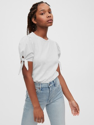 Gap Tie-Sleeve Top