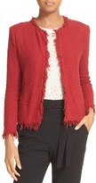 IRO Women's Fringe Trim Open Jacket