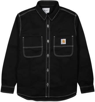Carhartt Wip WIP Chalk Black Cotton-twill Jacket