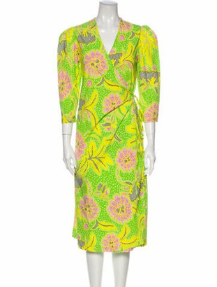 Rhode Resort Emilia Midi Length Dress w/ Tags Green Emilia Midi Length Dress w/ Tags