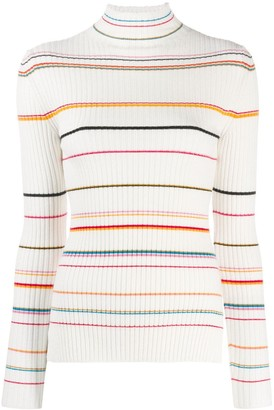 Sjyp striped ribbed sweater