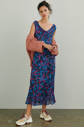 Alisandra Maxi Dress By Conditions Apply in Blue Size 0