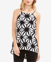 Vince Camuto Printed High-Low Top