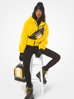 MICHAEL Michael Kors Faux Fur Hooded Jacket