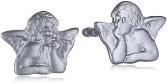 Xaana Children's Stud Earrings 925 Sterling Silver Rhodium Plated AMZ0326