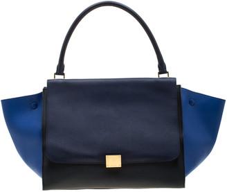 Celine Tri Color Leather Large Trapeze Bag