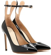 Francesco Russo Patent leather pumps