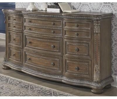 Astoria Grand Ouzts 9 Drawer Dresser Shopstyle
