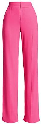 Alice + Olivia Dylan High-Waist Wide-Leg Pants