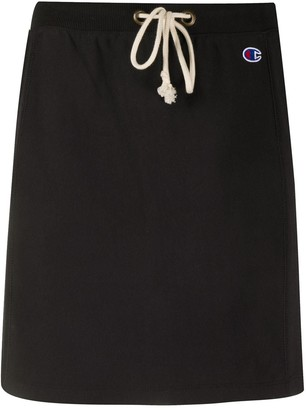 Champion Drawstring-Waist Mini Skirt