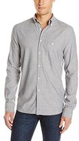 Nudie Jeans Men's Stanley Chambray Shirt In Grey