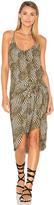 Vix Paula Hermanny Knot Mini Dress