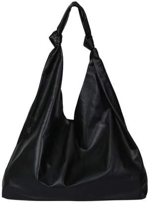 The Row bindle two bag black
