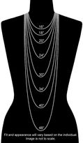 Margherita 18k Chocolate Gold-Over-Silver Chain Necklace