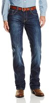 "Stetson Men's Rock Fit Barbwire ""X"" Stitched Jeans"