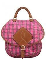 Maison Margiela Leather And Fabric Bag