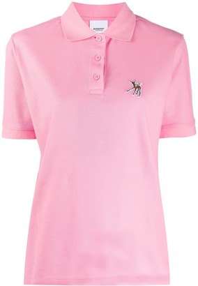 Burberry Deer Patch Polo Shirt